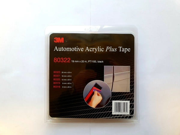 3M80322 ACRYL PLUS TAPE 19mmx20m
