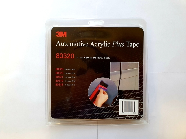 3M80320 ACRYL PLUS TAPE 12mmx20m